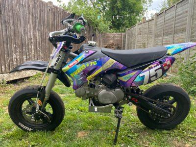 Stomp 120cc Pit Bike